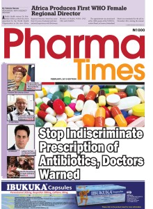 pharmaTimes cover page, FEbruary 2015